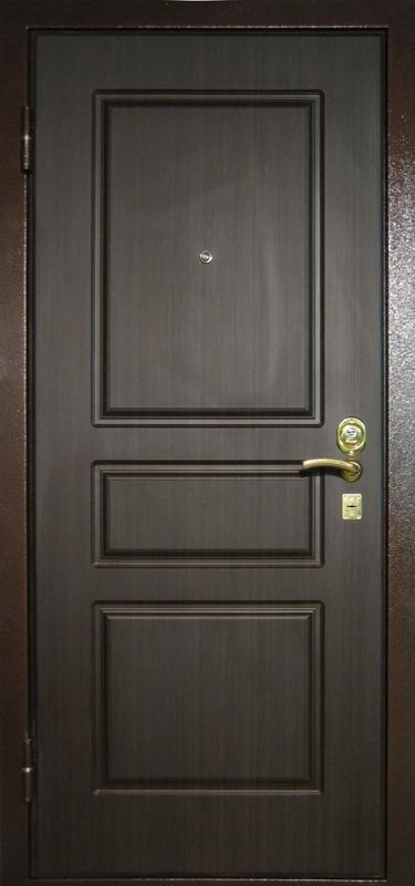 двери входные металлические для хозблока мдф шпон